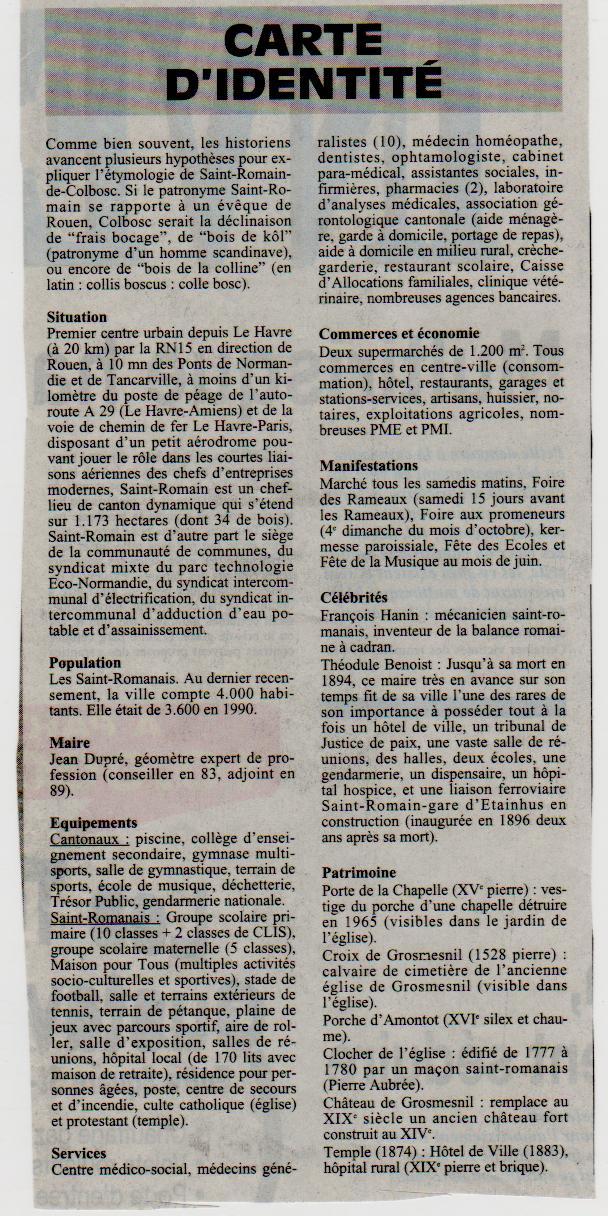 Histoire des communes - Saint-Romain-de-Colbosc Saint-36