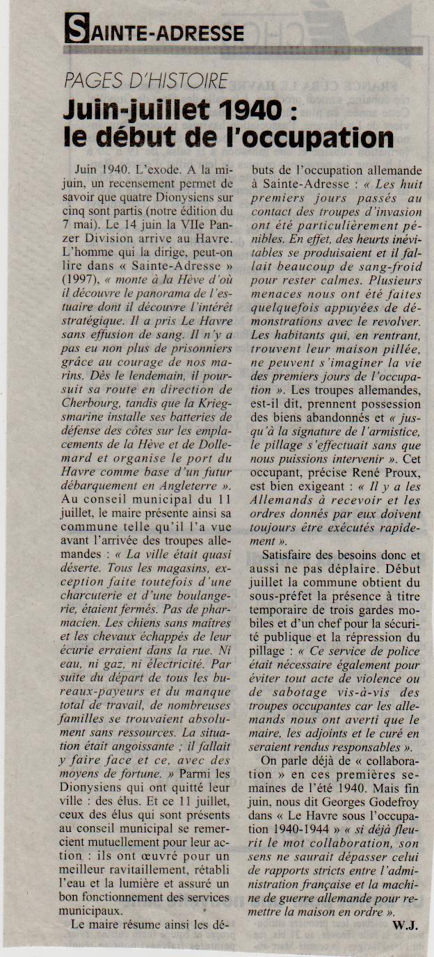 Histoires des communes - Sainte-Adresse Sainte16