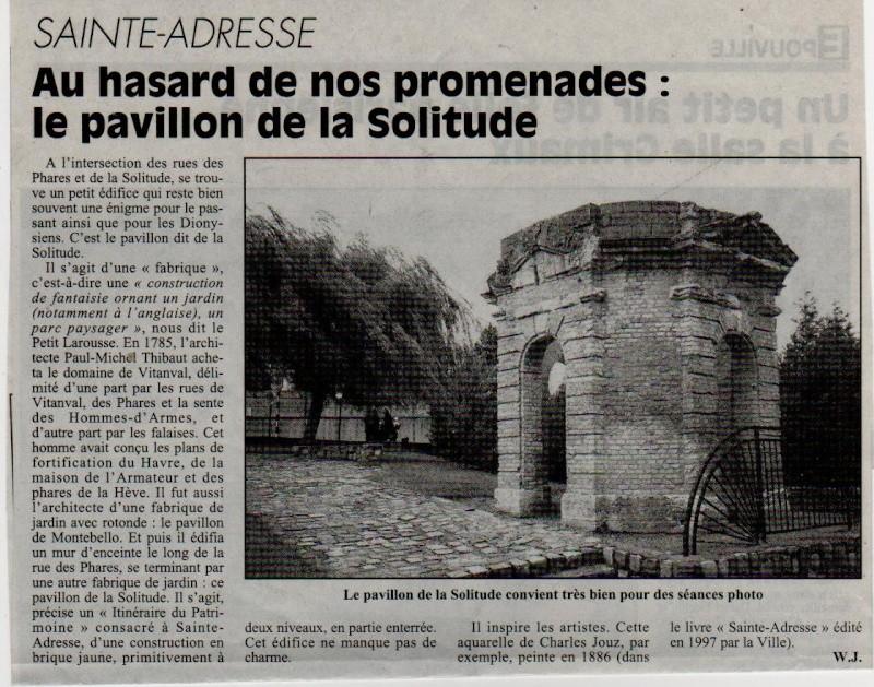 Histoires des communes - Sainte-Adresse Sainte20