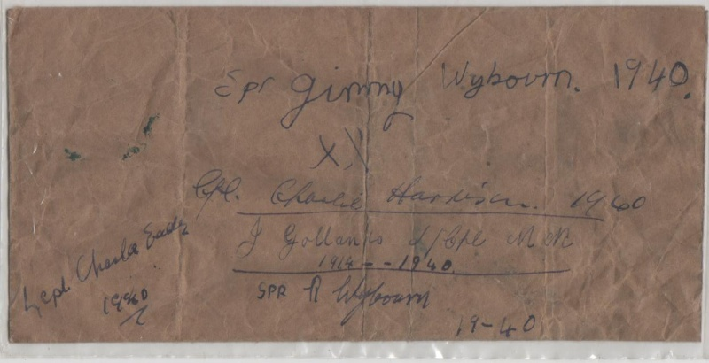 Journal - 1940 - Bombardement, Exode, Allemands, Résistance, Casino ... Signat10