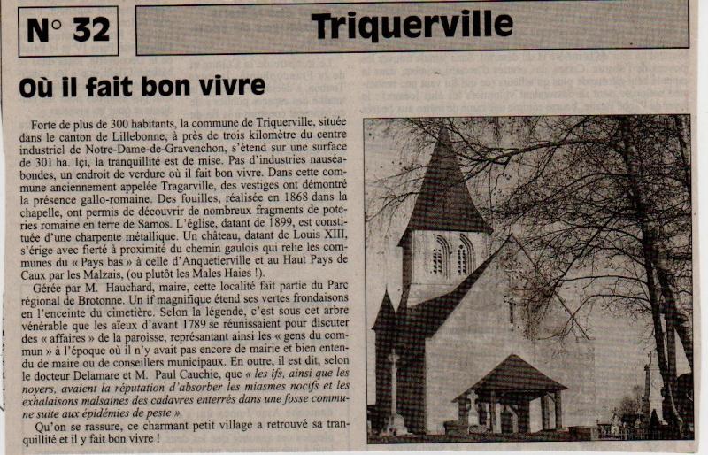Histoire des communes - Triquerville Trique10