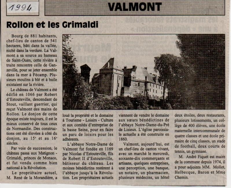 Histoire des communes - Valmont Valmon20