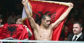 Kreshnik Qato, kampion i botës në versionin WBF Qato-k10