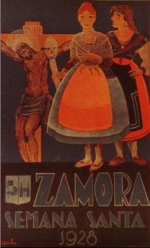 CARTELES DE SEMANA SANTA ANTIGUOS 192810