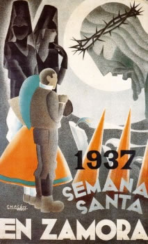 CARTELES DE SEMANA SANTA ANTIGUOS 193711