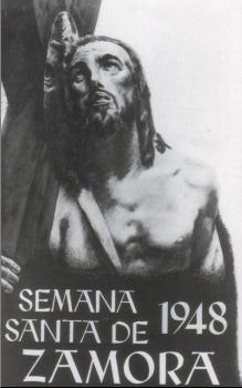 CARTELES DE SEMANA SANTA ANTIGUOS 194810