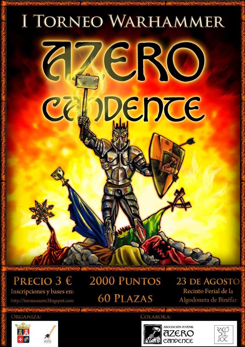 CARTEL del Torneo de Warhammer Azero Candente Cartel10