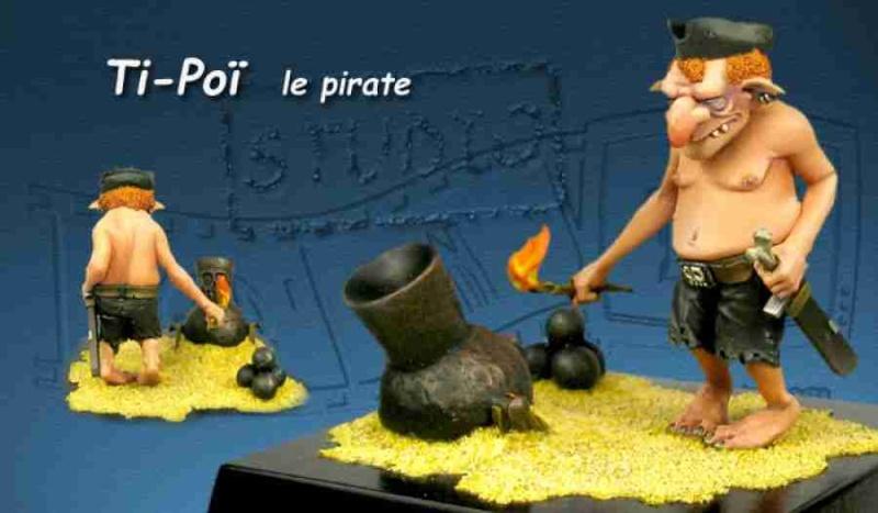 """""""Ti-poï s'en va en guerre"""" (Figurines-TV) 54 mm 112"""