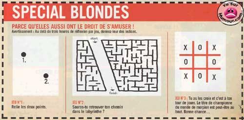 Humour en Image Blonde11