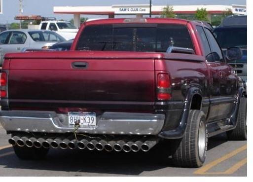 Vieux véhicule laids Pickup10