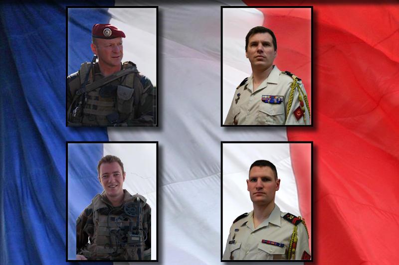 Quatre soldats français tués lors d'une attaque d'insurgés en Kapisa Afghan10