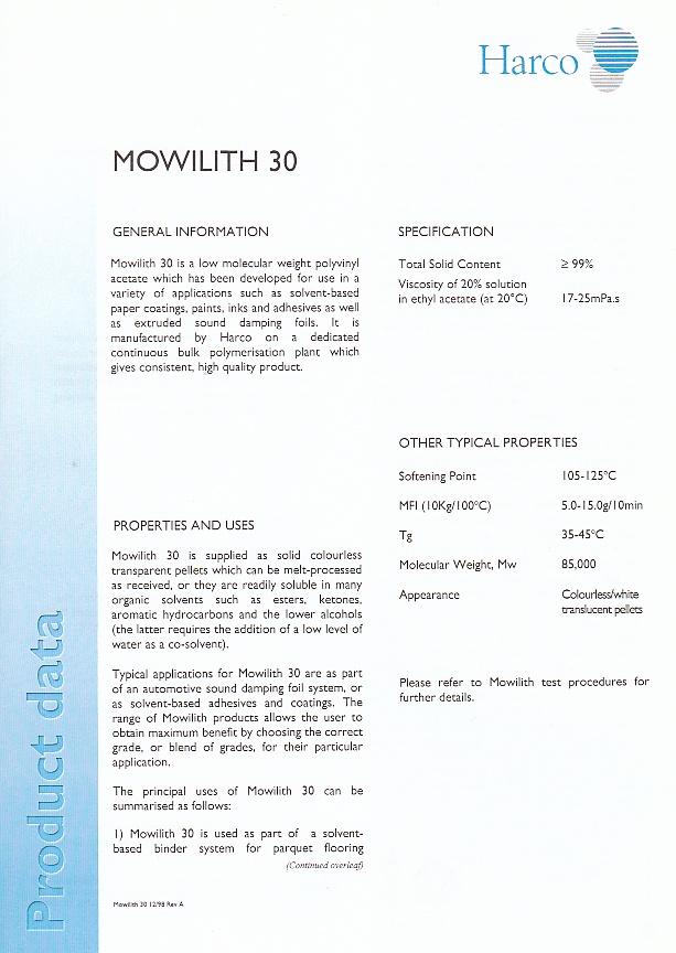Fiche Technique (retouche) : Mowilith 20 et Mowilith 30 (Harco) Img_0043