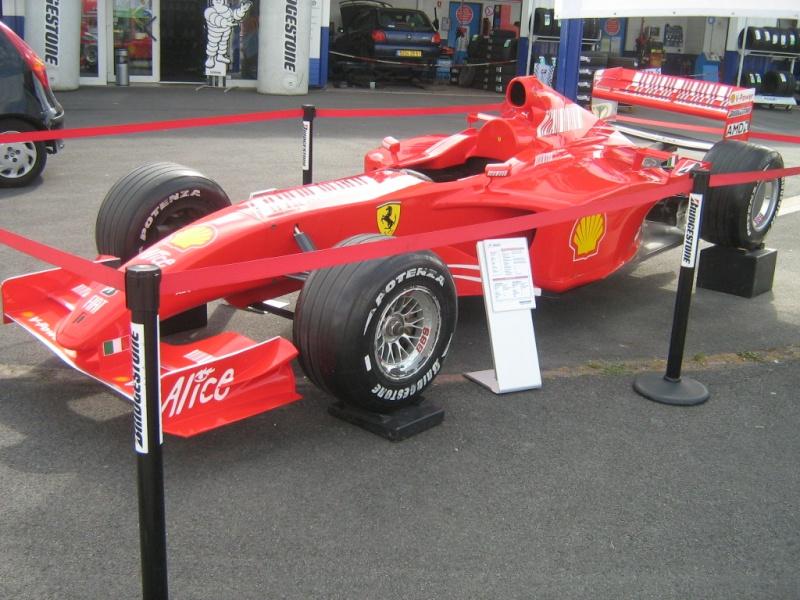Ferrari F1 de Schumi Formul18