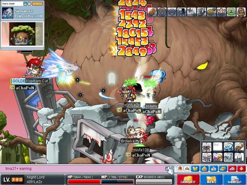 Attempt to kill KREXEL - SUCCESS!! ^^ Maple013