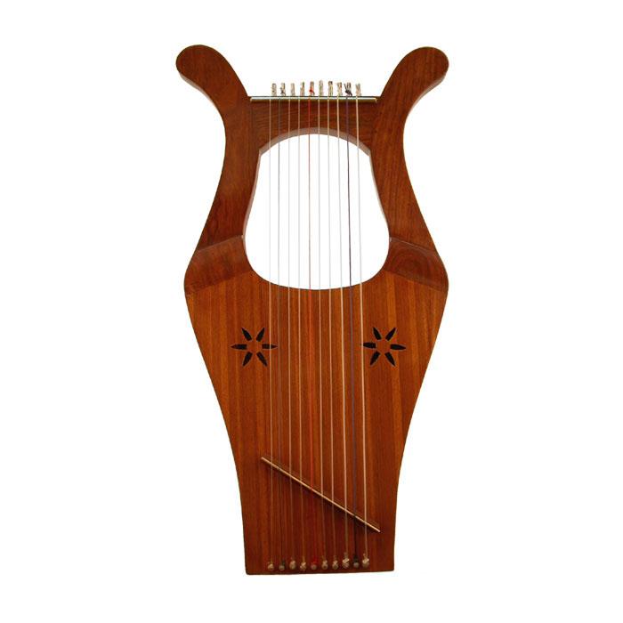 Instrumentos musicales y Antiguo Testamento Harp_k10