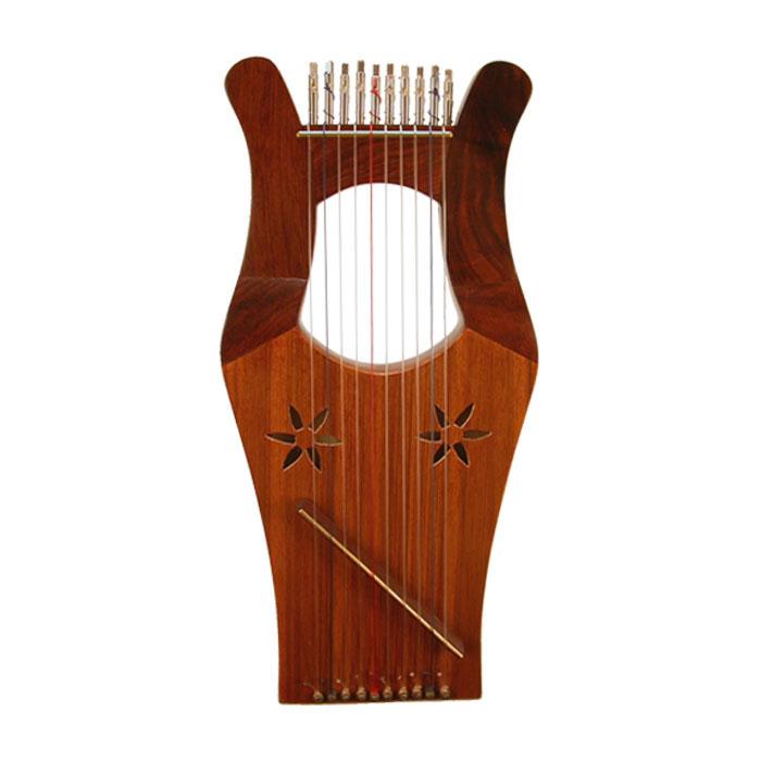 Instrumentos musicales y Antiguo Testamento Harp_k11