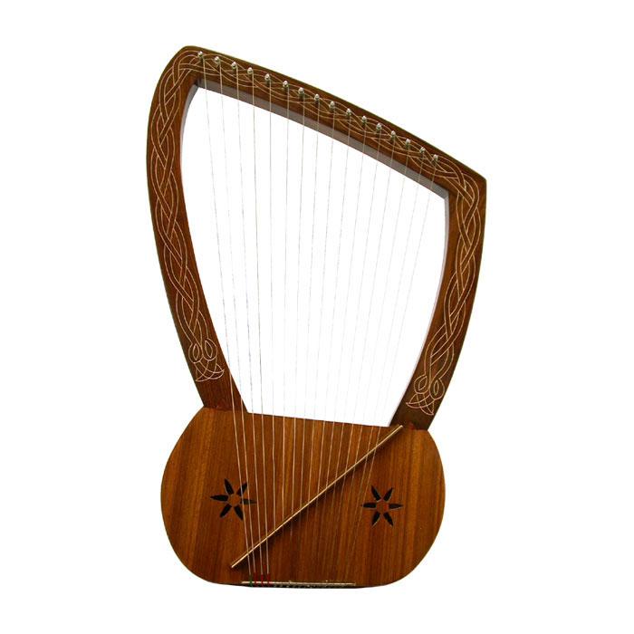 Instrumentos musicales y Antiguo Testamento Harp_l10