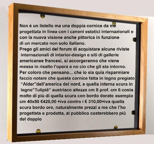 Dal Maestro Nunziante: Chiarimento nuove cornici Cornic10