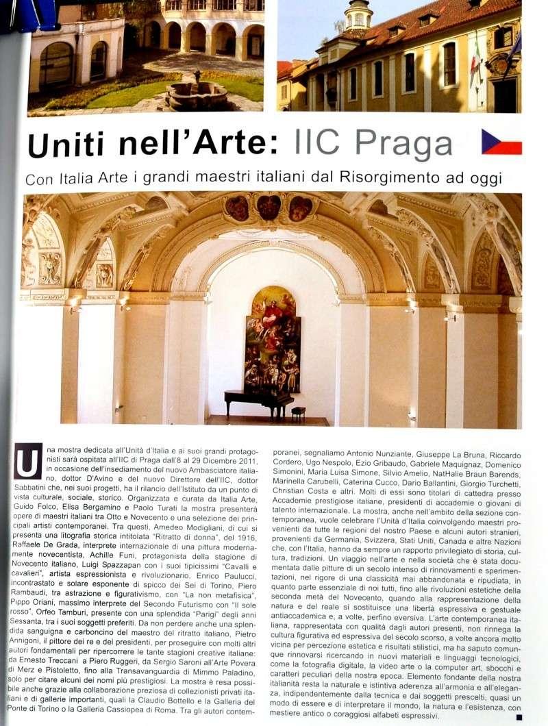 """MOSTRA A PRAGA: """"Uniti nell'Arte: 150 anni di sperimentazione creativa"""" 9-29 Dicembre 2011 Dsc_0210"""