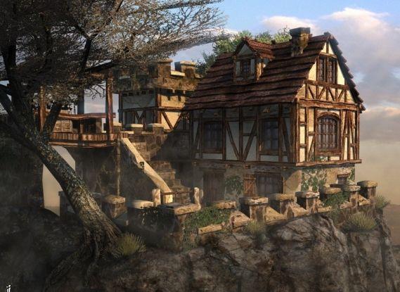 La maison de la falaise