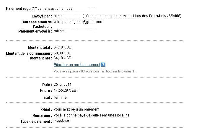 my 3rd payment Voyrep12