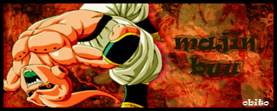 3º Sign-Dragon ball Z/GT Majin_13