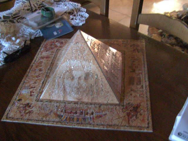 Objetos fabricados sobre el tema de egipto 02610