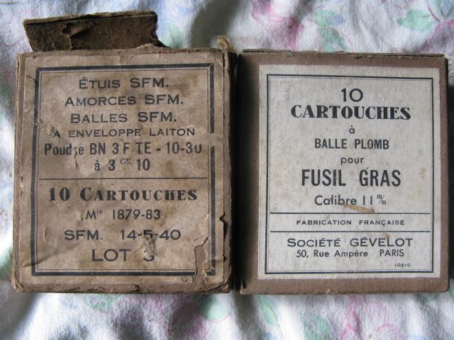 11 mm Gras blindée Poudre36