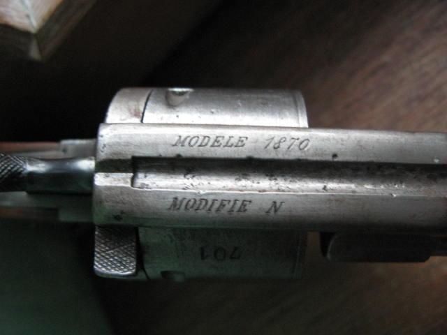 Revolver 1870 Poudre85