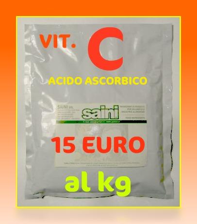Vitamina C :15 EURO AL KILO. Acido_11