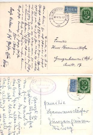 Posthorn-Einzelfrankaturen 02_08_12