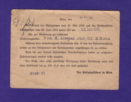 Österreich im III. Reich (Ostmark) Belege Dr1210