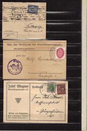 Dienstpost im Deutschen Reich G111