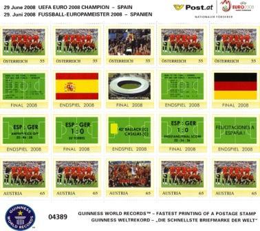Weltrekord Post produziert schnellste Marke Spanie12