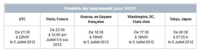 Lancement Ariane 5 ECA VA207 / MSG-3 + EchoStar XVII - 05 Juillet 2012 - Page 2 Ariane10