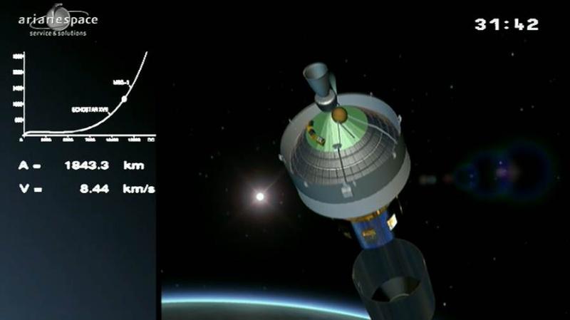 Lancement Ariane 5 ECA VA207 / MSG-3 + EchoStar XVII - 05 Juillet 2012 - Page 3 Capt_310