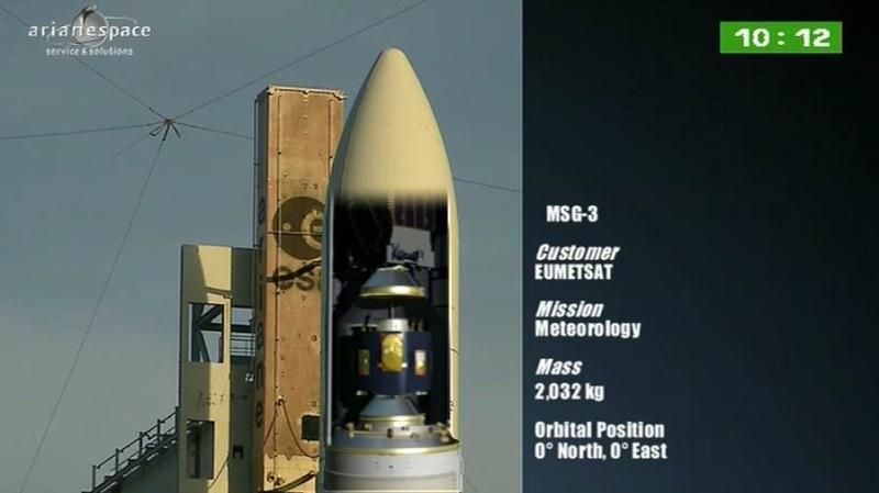 Lancement Ariane 5 ECA VA207 / MSG-3 + EchoStar XVII - 05 Juillet 2012 - Page 3 Capt_317