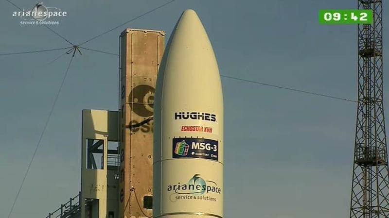 Lancement Ariane 5 ECA VA207 / MSG-3 + EchoStar XVII - 05 Juillet 2012 - Page 3 Capt_319