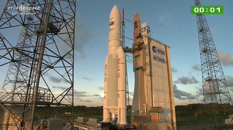 Lancement Ariane 5 ECA VA207 / MSG-3 + EchoStar XVII - 05 Juillet 2012 - Page 3 Capt_328