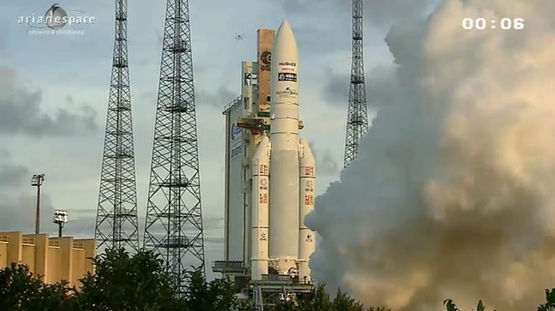 Lancement Ariane 5 ECA VA207 / MSG-3 + EchoStar XVII - 05 Juillet 2012 - Page 3 Capt_334