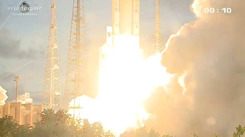 Lancement Ariane 5 ECA VA207 / MSG-3 + EchoStar XVII - 05 Juillet 2012 - Page 3 Capt_336