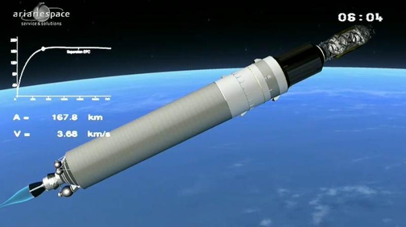Lancement Ariane 5 ECA VA207 / MSG-3 + EchoStar XVII - 05 Juillet 2012 - Page 3 Capt_366