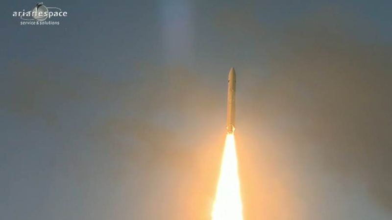 Lancement Ariane 5 ECA VA207 / MSG-3 + EchoStar XVII - 05 Juillet 2012 - Page 3 Capt_376