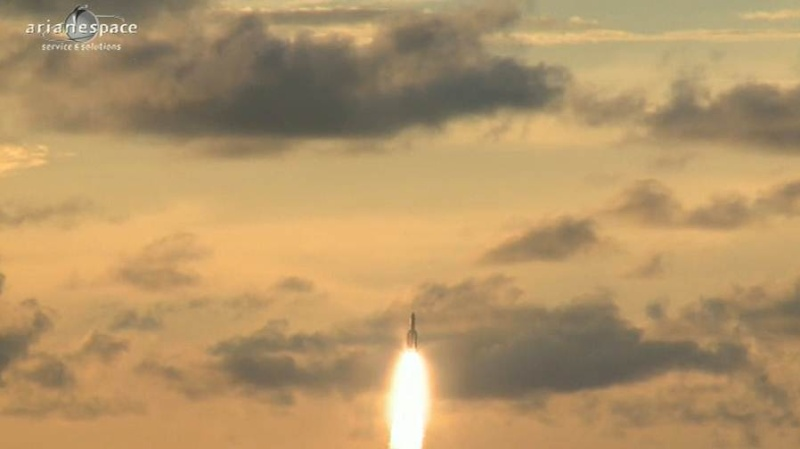 Lancement Ariane 5 ECA VA207 / MSG-3 + EchoStar XVII - 05 Juillet 2012 - Page 3 Capt_378