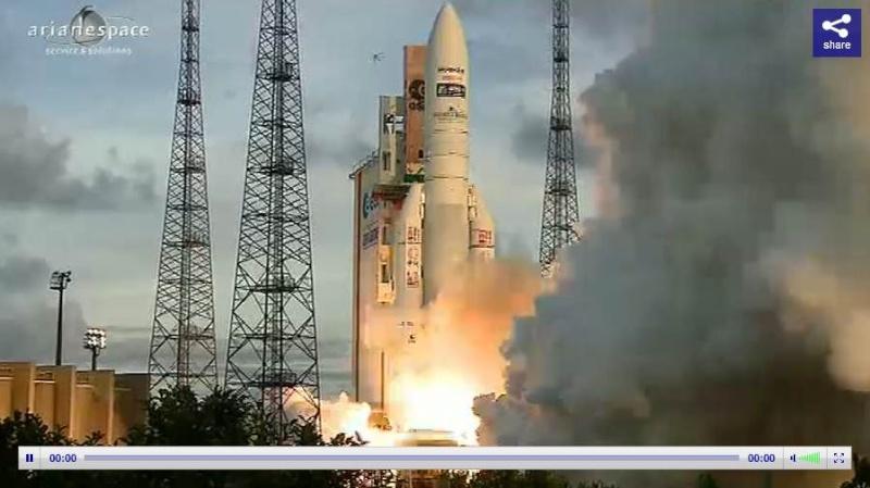Lancement Ariane 5 ECA VA207 / MSG-3 + EchoStar XVII - 05 Juillet 2012 - Page 3 Capt_380