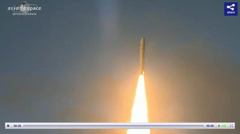 Lancement Ariane 5 ECA VA207 / MSG-3 + EchoStar XVII - 05 Juillet 2012 - Page 3 Capt_381