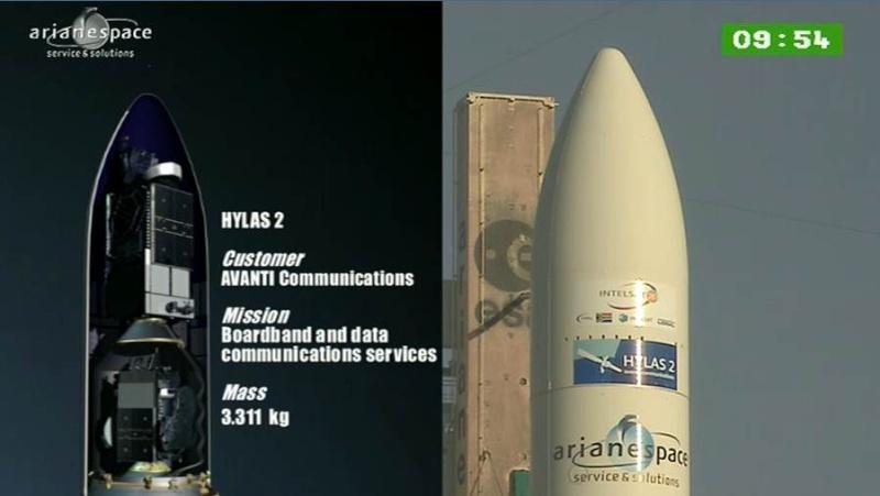 Lancement Ariane 5 ECA VA208 / INTELSAT 20 & HYLAS 2  (02.08.2012) - Page 2 Capt_393