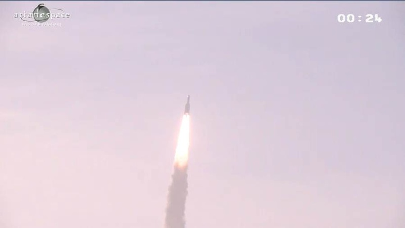 Lancement Ariane 5 ECA VA208 / INTELSAT 20 & HYLAS 2  (02.08.2012) - Page 2 Capt_411