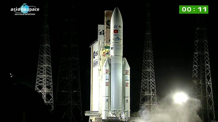 Lancement Ariane 5 ECA VA206 / JCSAT-13 + VinaSat-2 - 15 mai 2012 - Page 2 Capt_h31