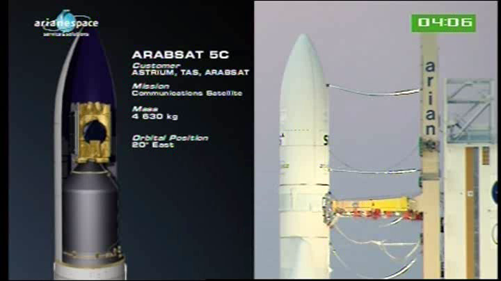 Lancement Ariane 5 VA204 / SES 2 + Arabsat 5C - 21 septembre 2011 [succès] - Page 3 Vlcsn214